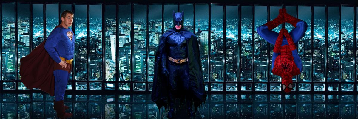 Super Hero Costume Characters Chicago