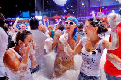 Chicago Foam Parties