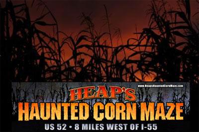 Heaps Haunted Corn Maze