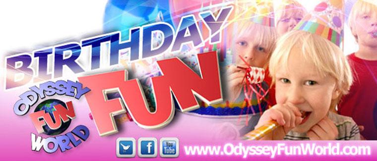 Odyssey Fun World Birthday Parties