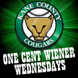 one cent wiener wednesdays kane county cougars
